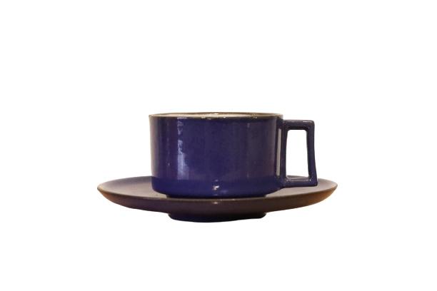 Vintage kop + schotel