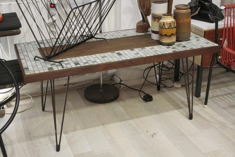 Mooie salontafel met mozaiek