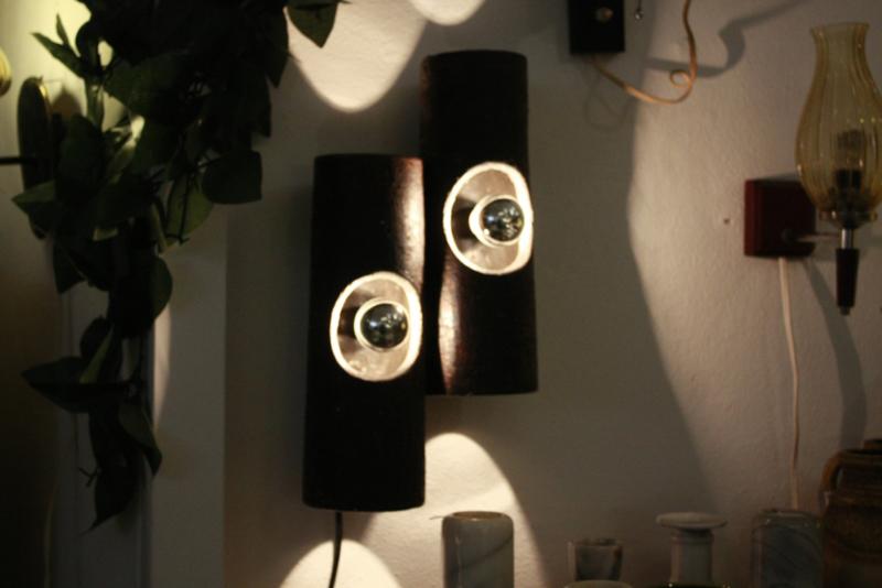Keramieke wandlamp