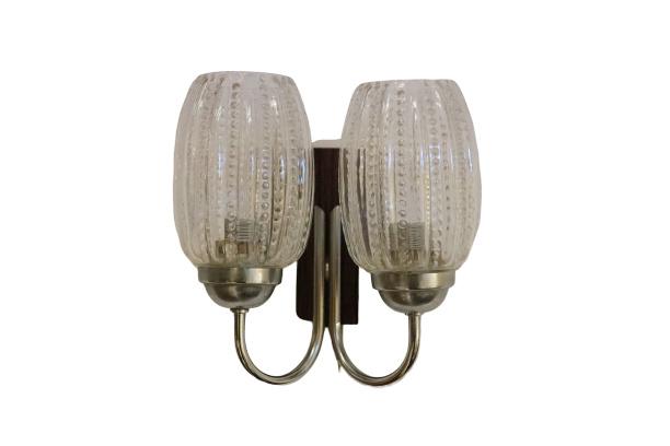 Wandlamp met 2 lichtpunten