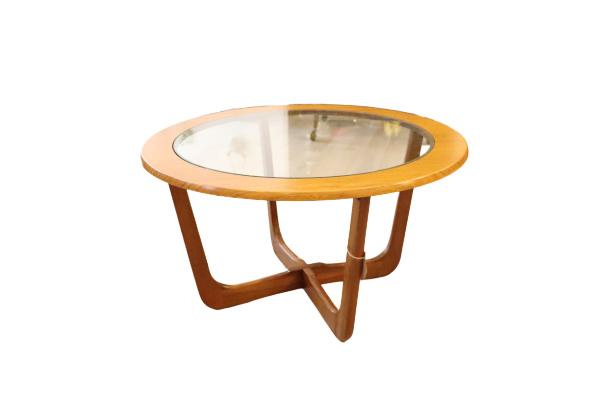 Wonderbaar Vintage salontafel rond | • Sold items | Misceaup The Treasure Hunters KU-71