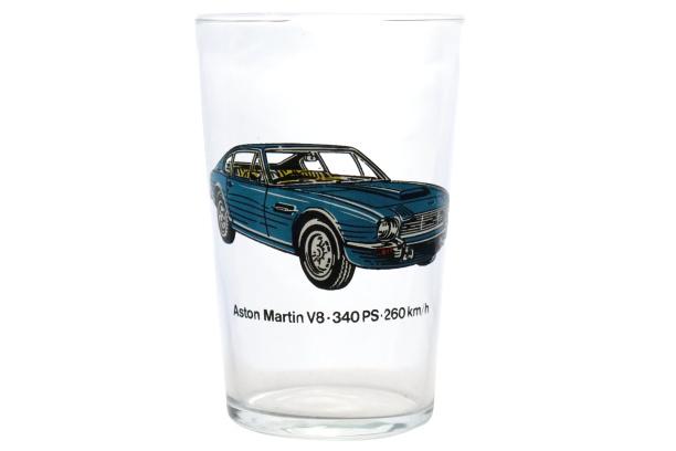 Limonadeglas 'Aston Martin V8'