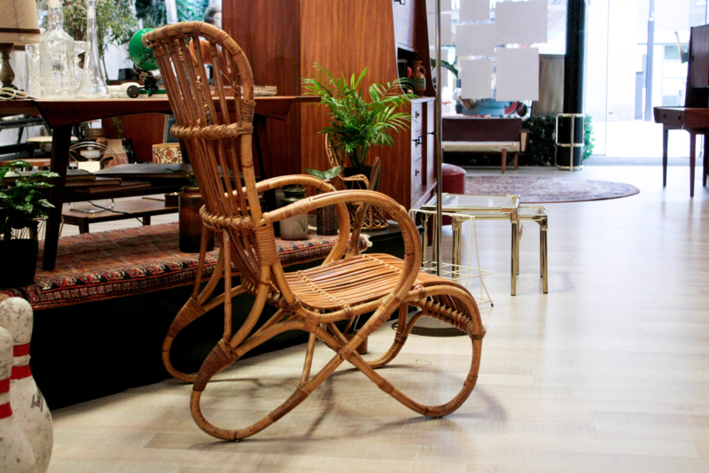 Rotan stoel (heren model)