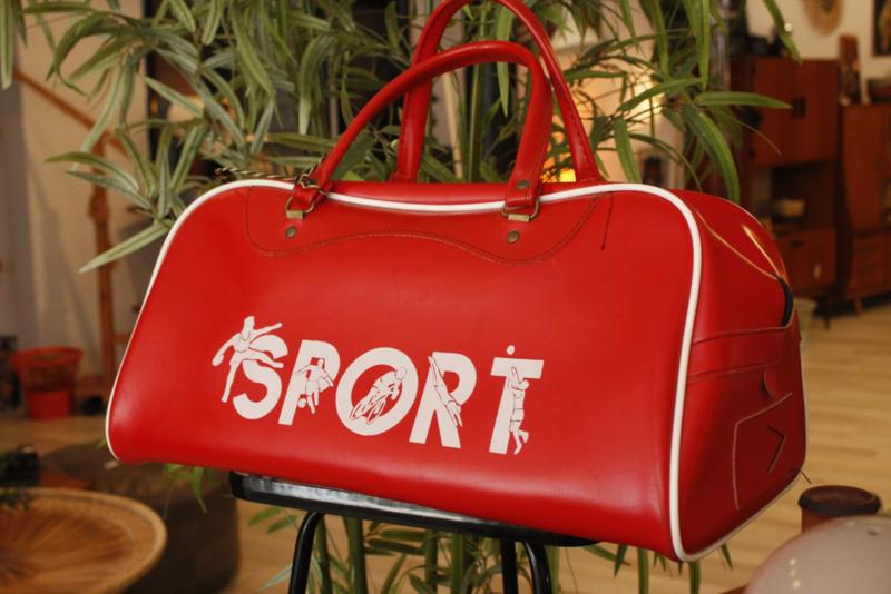 Vintage sporttas