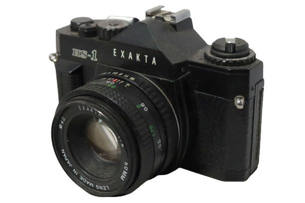 Spiegelreflexcamera Exakta HS-1  +  Exakta 50mm lens