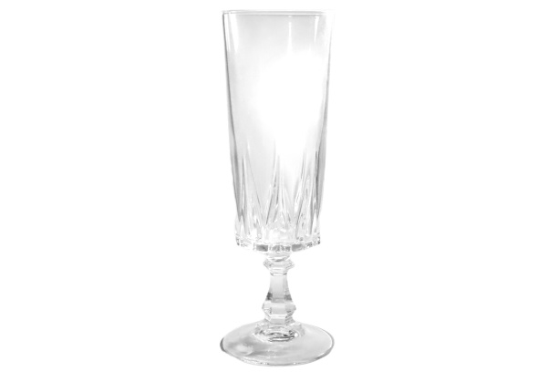 Kristal champagneglas
