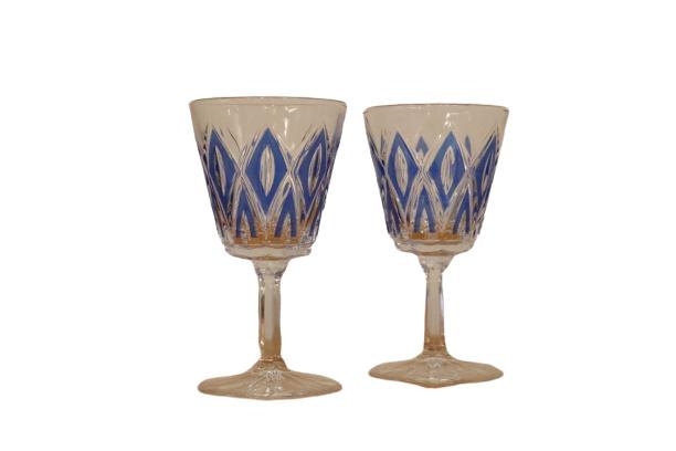 Glazen geperst glas