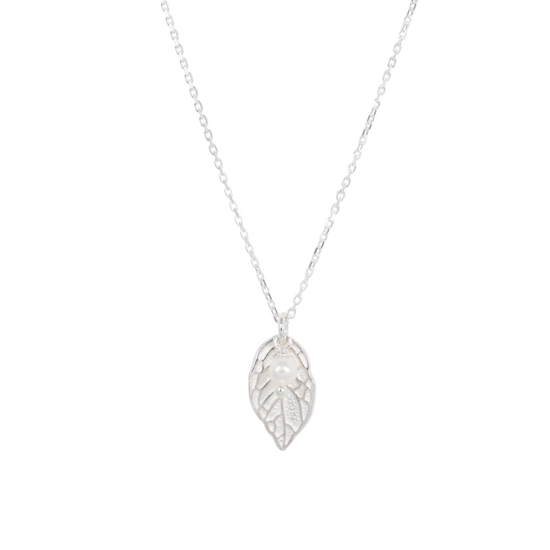 Leaf parel ketting