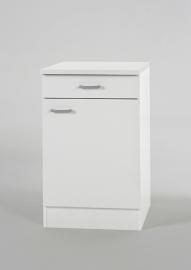 Onderkast Wit (BxHxD) cm 30 x 84,5 x 50 OPTI-421