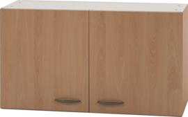 Bovenkast Klassiek 50 Wit 100cm x 32 cm Beuken O500-6-OPTI-19