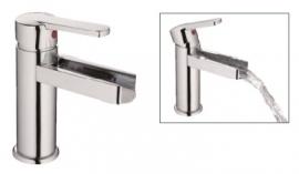 Eengreepsmengkraan waterval design Incl. aansluitslangen RAI-60