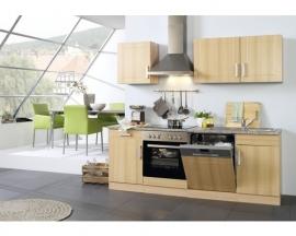 Keuken Valerio Beuken 220 cm Incl. Inbouwapparatuur HRG-21289