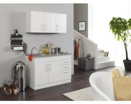 Keukenblok Toronto Eiken 120 cm Incl. E-kookplaat HRN-4399