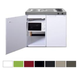 MKM 100 met koelkast en losse magnetron
