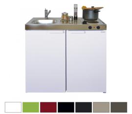 MK 100 met koelkast en een la