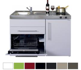MPGS 120 met vaatwasser en koelkast