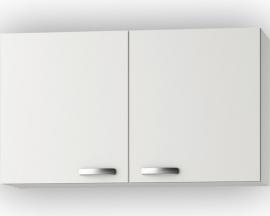 Wandkast Lagos White Glans (BxHxD) 100 x 57,6 x 34,6 cm O106-9