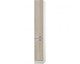 Apothekerskast kast Padua licht eiken ruw gezaagd (BxHxD) 30,0x206,8x57,1 cm RAI-296