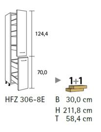 Komfort HFZ306-8E