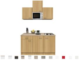 Kitchenette Nano beukenhoutdecor 150 cm incl. Inbouwapparatuur HRG-0429