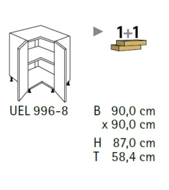 Komfort UEL996-8