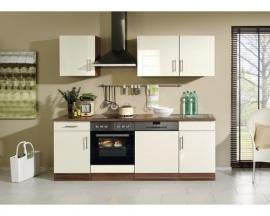 Keuken Nevada Créme 220 cm Incl. Inbouwapparatuur HRG-11289