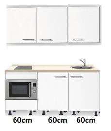 kitchenette 180 met stelpoten en combimagnetron RAI-318