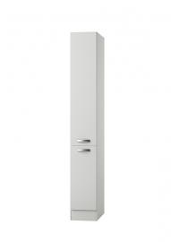 Apothekerskast Lagos wit hoogglans (BxHxD) 30,0x206,8x57,1 cm RAI-996