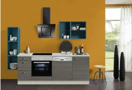 Keuken Vigo Pine Fantasy 220 cm Incl. Inbouwapparatuur HRG-1351