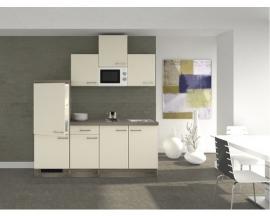 Keuken Eico Magnolia wit 210 cm Incl. Inbouwapparatuur HRG-7695