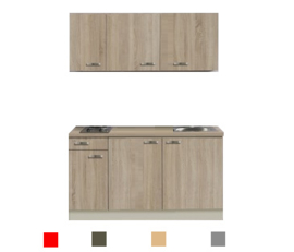 kitchenette 130 incl e-kookplaat RAI-3322