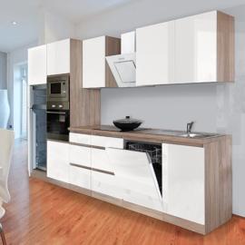 Keuken 340cm  incl inbouw apparatuur RAI-165