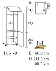 Komfort H661-8