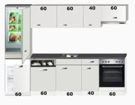 Keuken 280cm Bengt incl apparatuur RAI-798