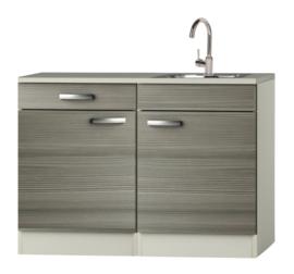 Keukenblok Grijs-bruin Vigo 120cm RAI-512