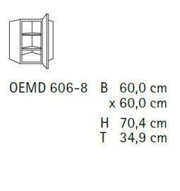 Komfort OEMD606-8