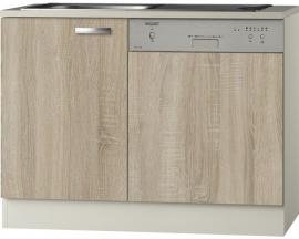 Keukenblok voor vaatwasser padua licht eiken (BxHxD) 110,0x84,8x60,0 cm HRG-1165
