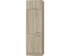 Device wijziging kabinet Napels acacia-Decor (BxHxD) 60,0x206,8x57,1 cm HRG-0195