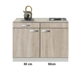 Keukenblok Padua houtnerf 120cm RAI-511