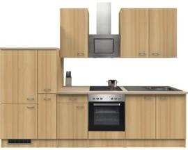 Keuken Nano Beuk  300 cm Incl. Inbouwapparatuur HRG-51129