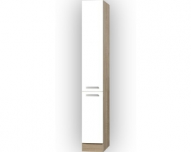 Apothekerskast Zamora mat wit (BxHxD) 30,0x206,8x57,1 cm RAI-896