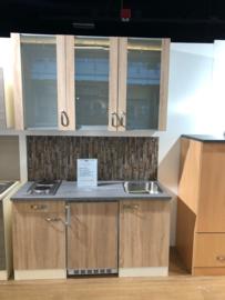 Showmodel keukenblok houtnerf 150cm