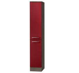 Apothekerskast Imola Rood (BxHxD) 30 x 136 x 57,1 cm HFZ306-9-128