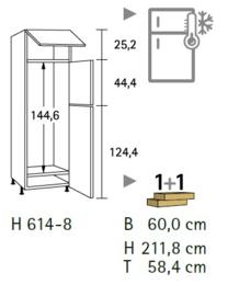 Komfort H614-8
