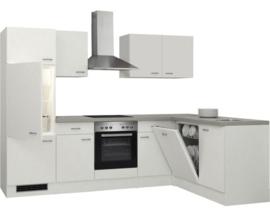 L-Keuken Wit 280x170 cm incl. Inbouwapparatuur HRG-7564