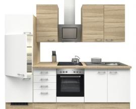 Keuken Samoa wit 270cm incl. inbouwapparatuur HRG-1049