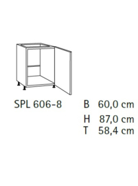 Komfort SPL606-8