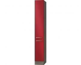 Apothekerskast Imola Rood (BxHxD) 30,0x206,8x57,1 cm HFZ306-9-128