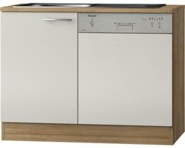 Keukenblok voor vaatwasser Bilbao créme (BxHxD) 110,0x84,8x60,0 cm OPTI-2154