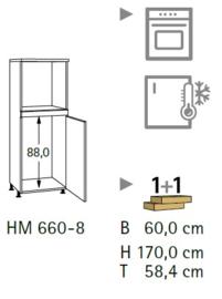 Komfort HM660-8